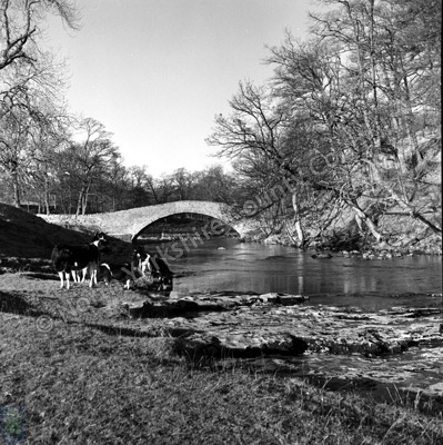 Pack Horse Bridge, Stainforth 1965
